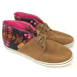 Vans Limited Edition Suede Aztec Shoes Women's 7.5